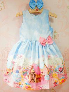 Vestido Infantil Candy Land Mon Sucré