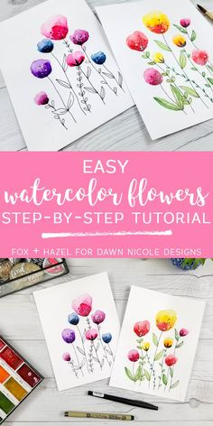Easy Watercolor Flow