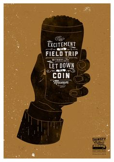 Craft beer poster  ACG Design Co.