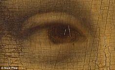 Detail van haar oog