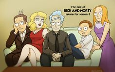 Morty is cute :3 but WHY is Rick so hot wtf :')