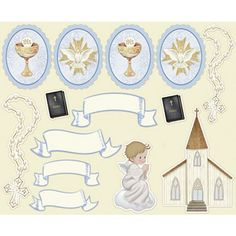 Litoarte Communion Boy 12 x 12 in. Scrapbooking Paper PackPapers with communion patterns.The collection is perfect for making albums, signing books, or memories from such an especial occasion as the first communion of a boy. Baby Scrapbook, Scrapbook Paper, Communion Invitations, Clip Art, Ideas Para Fiestas, First Communion, Free Paper, Paper Piecing, Scrapbooks
