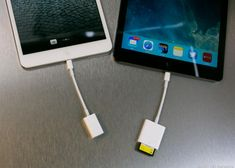 The iPad isn't entirely self-sufficient. These extra bits of gear can help. - USB for iPad. Technology Gadgets, Tech Gadgets, Cool Gadgets, Medical Technology, Computer Technology, Computer Programming, Energy Technology, Best Ipad Air Case, Ipad Hacks