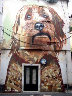 Pintura de rua Leiria