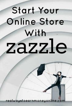 You can start selling on Zazzle and have your own online store. This is a convenient way to create and sell products quickly. via @RealWaystoEarn