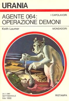 820  AGENTE 064: OPERAZIONE DEMONI 24/1/1980  THE HOUNDS OF HELL (1964)  Copertina di  Karel Thole   KEITH LAUMER *Ristampa del n. 443