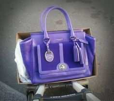 coach haircalf handbag images   the right side of the bag to balance out the look of the bag and to ...