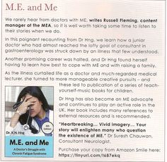 Junior Doctor, Chronic Fatigue Syndrome, Doctors, Irish, Management, Magazine, Writing, Learning, Amazon