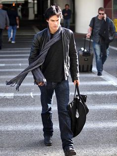 Ian Somerhalder - come fly with me!