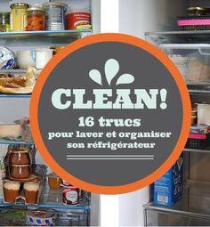 16 trucs et astuces pour laver et ranger son réfrigérateur http://www.deco.fr/diaporama/photo-16-trucs-laver-organiser-refrigerateur-76447/