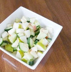 Southern Mom Loves: Day 7: Apple Cucumber and Pear Salad {#12DaysOf Summer}