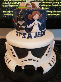 Star Wars Baby Shower Cake Baby Shower In 2019 Baby