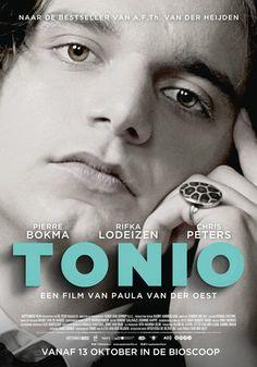 Ik heb een creatief verslag gemaakt van de film tonio. Zie de volgende foto's