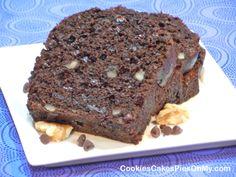 Double Chocolate Walnut Banana Bread