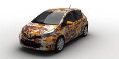 Kofola corporate cars design proposal - Version #4. / Design firemních aut Kofola - návrh č.4. #Kofola #design #proposal #návrh #cars #auta #bété