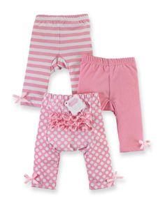 Mud-Pie Light Pink Playground Shorties