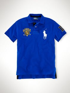 Custom-Fit Big Pony Polo - Custom-Fit   Polos - RalphLauren.com