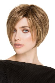 Java by Ellen Wille Wigs - Hand Tied, Monofilament Crown, Lace Front Wig - Cortes de cabello corto - Haare Bob Style Haircuts, Bob Hairstyles, Natural Hair Growth, Natural Hair Styles, Short Hair Cuts, Short Hair Styles, Pixie Cuts, Short Pixie, Chin Length Bob
