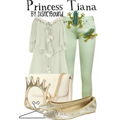 Princess Tiana inspired outfit! I like the idea of making modern day outfits for Disney princesses. LOVE THIS!!!!!!!!!!!!!!!!!!!!!!!!!!!!!!!!!!!!!!!!!!!!!!!!!!!!!!!!!!!!!!!!!!!!!!!!!!!!!!!!!!!!!!!!!!!!!!!!!!!!!!1
