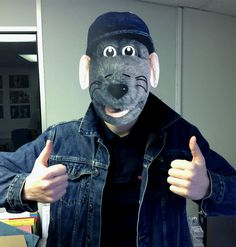 Roland Rat masks available at www.mask-arade.com