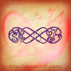 acronym RB #tattoo double infinity symbol
