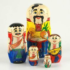 Father & Sons Nesting Doll