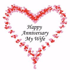 Happy anniversary to my loving wife. Free online Happy Anniversary Wife ecards on Anniversary Happy Wedding Anniversary Message, Anniversary Quotes For Wife, Happy Wedding Anniversary Wishes, Happy Anniversary Cakes, Romantic Anniversary, Anniversary Songs, Aniversary Wishes, Wedding Songs, Wedding Themes
