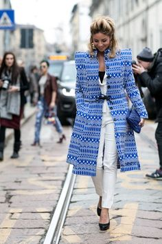 Must-See Street Style From Milan Fashion Week Fall 2015 | StyleCaster