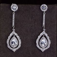 Zircon Earring JHZ-379 USD42.59, Click photo for shopping guide and discount