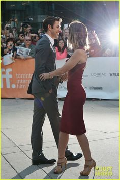 So cute! John Krasinski & Emily Blunt.