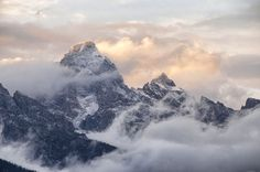First snow in Grand Teton National Park by Stephen Williams | Jackson Hole, Wyoming