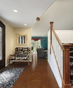 Hardwood Flooring Ideas And Installation For Your Home Ash Flooring, Cork Flooring, Flooring Options, Hardwood Floors, Eco Friendly Flooring, Floating Floor, Sound Proofing, Red Oak, Stairs