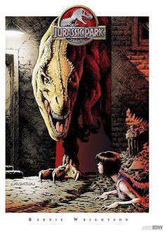 Jurassic Park by Bernie Wrightson