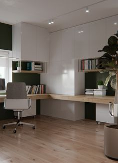 Our home office was completely executed in fresh clean colors. Have created suc Home Office Ideas Clean COLORS completely created executed Fresh Home Office suc