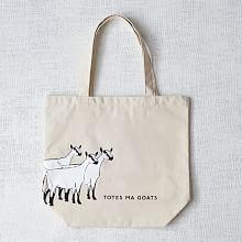 Market Tote Bag - Totes Ma Goats