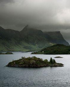 Lofoten Islands Suffering In Silence, Arctic Circle, Lofoten, Norway, Islands, Clouds, Sky, Landscape, Water
