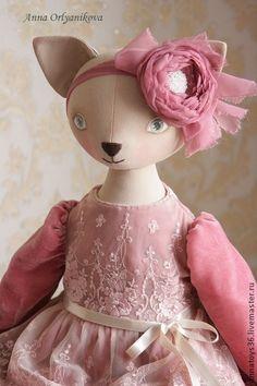 Коллекционные куклы ручной работы. Ярмарка Мастеров - ручная работа Rosette. Handmade.