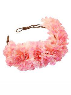 Annie Oversized Floral Crown Headband