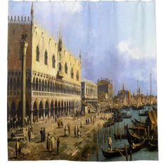 Curtain shower canaletto venise - shower gifts diy customize creative