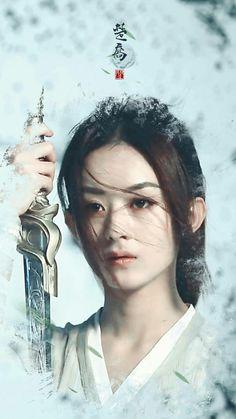 Zhaoliying princess agent Geisha, Princess Agents, Zhao Li Ying, Warrior Girl, Action Poses, Chinese Actress, Fantasy Women, Beautiful Asian Women, All About Eyes