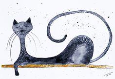 cat and elegancy...
