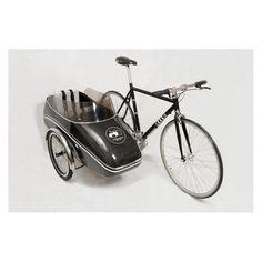 Scandinavian Side Bike, sidecar vélo, remorque vélo sidecar, remorque vélo attaché a côté de vélo
