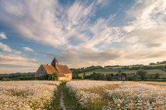 St Hubert's Church, Idsworth, Hampshire, England