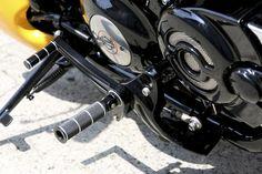 2011 VRSCDX CUSTOM | BAD LAND #harleynightrod #harleyxchange #harleydirtcheap Custom Moto, Bobber Custom, Harley Night Rod, V Rod, Cruiser Motorcycle, Kustom, Harley Davidson
