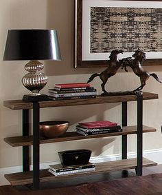 Look what I found on #zulily! Modesto Wood Console Table #zulilyfinds