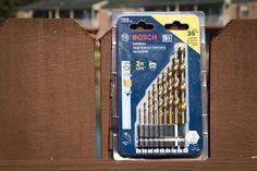 Bosch Impact Tough Titanium Drill Bit Set  Looking for a great titanium drill bit set? Then be sure to check out the Bosch Impact Tough Titanium Drill Bit Set - for impact drivers and drills alike. #bosch #drillbits #titanium #impactready  https://www.protoolreviews.com/tools/power/accessories/bosch-impact-tough-titanium-drill-bit-set/26820/