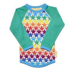 Sonic Stars Raglan T Shirt by Boys and Girls - Junior Edition www.junioredition.com