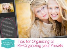 Tips for Organizing your Presets