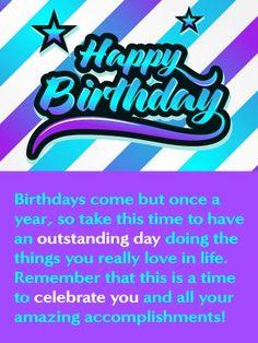 Birthday Quotes Celebrating You