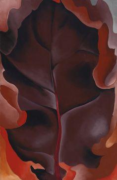 GEORGIA O'KEEFFE Autumn Leaf II (1927)